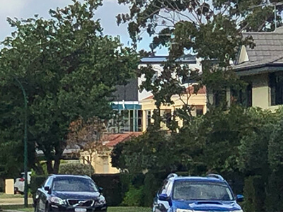 A street in one of Perth's prestigious outer suburbs.