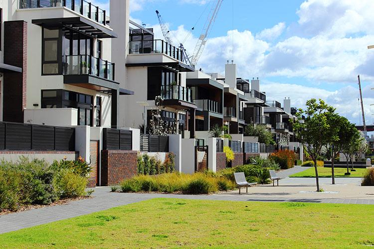 urban townhouse development mortgage
