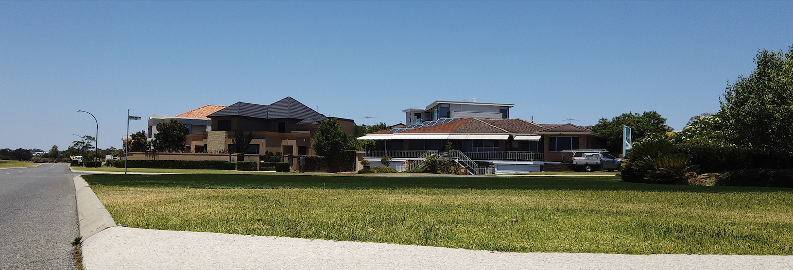 River side houses in Attadale near Perth Western Australia.