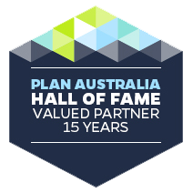 Plan Australia Hall of fame member Gavin Harrigan.