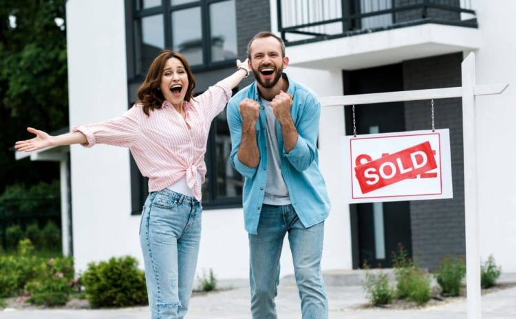 Under the New Home Guarantee scheme, first home buyers get a chance to pay for a new house with a five per cent deposit.