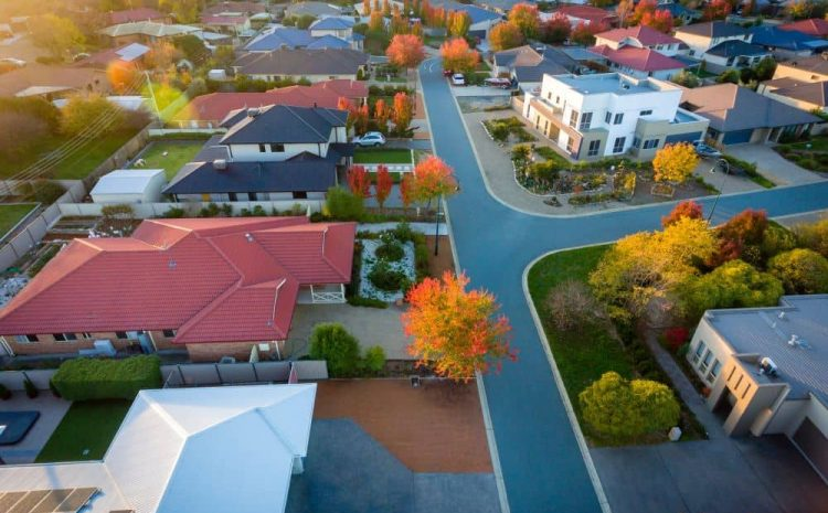 Australian suburb.